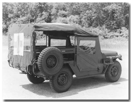 The M718A1 Frontline Ambulance Truck